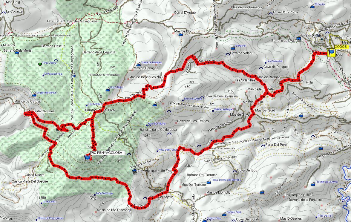 mapa xodos-pic